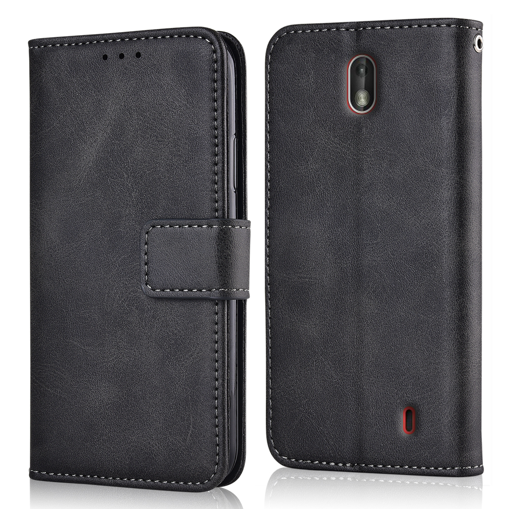 Flip Leather Wallet Case for On <font><b>NOKIA</b></font> <font><b>2</b></font> 5'' Case Nokia2 Case Silicone <font><b>Back</b></font> <font><b>Cover</b></font> for <font><b>Nokia</b></font> <font><b>2</b></font> 2017 TA-1029 Case image