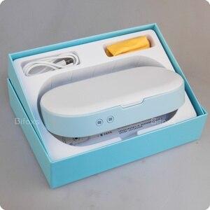 Image 5 - Stérilisateur à lampe UV, boîte de désinfection, désinfectant pour téléphone, avec chargeur sans fil, fonction daromathérapie