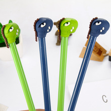 Simple Creative Cartoon Whip Small Monster Neutral Pen Leaky Tooth Black Student Stationery Supplies