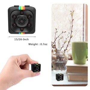 Image 4 - SQ11 mini Macchina Fotografica HD 1080P piccola cam Sensore di Visione Notturna Videocamera Micro video Camera DVR DV Motion Recorder Camcorder SQ 11