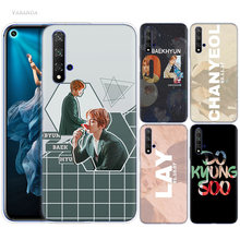 Exo K Pop Baekhyun Case for Huawei Honor 9X 8X Y9 20 S 8C 9 10 Play 8A Lite Pro V20 Y7 Y6 2019 Soft Phone Coque Cover(China)