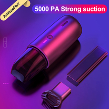 5000Pa Mini Vacuum Cleaner Wireless Portable Handheld Super suction Low noise Vacuum Cleaners for Car Interior Cleaning Cleaner