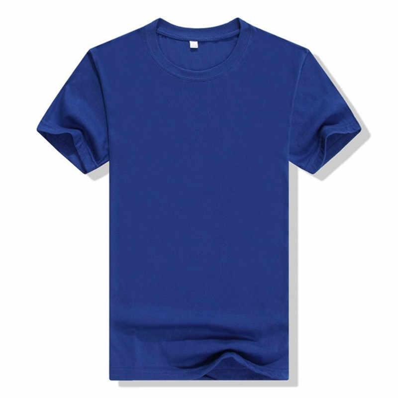 BTFCL dostosowane mężczyźni kobiety dostosowane T Shirt drukuj jak zdjęcie lub Logo tekst DIY twój własny projekt bawełna Harajuku zielony TShirt