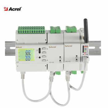 ADW210-D10-4s multi circuit lcd display electrical din rail energy meter modbus-rtu 2DI/2DO