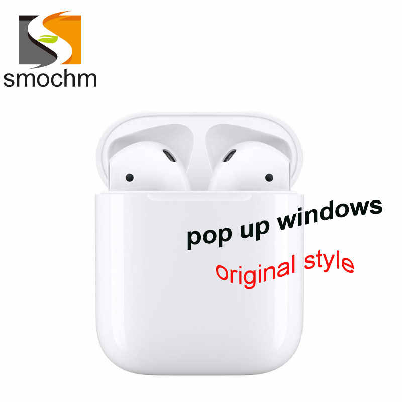 SmoPods APO 1 оригинальный 1:1 TWS Смарт сенсор Bluetooth 5,0 Стерео Наушники Hi-Fi музыка Pop Up с Siri для iPhone android