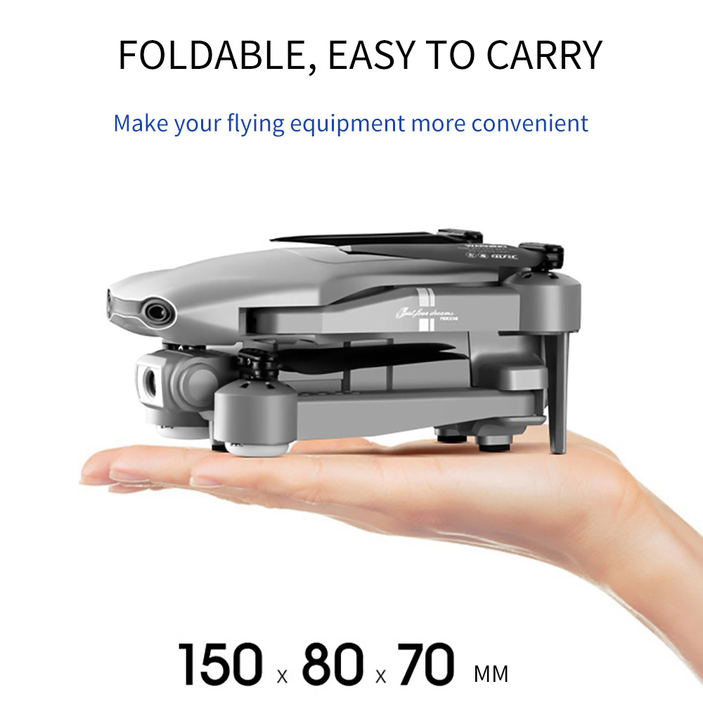 2020 NEW F3 drone GPS 4K 5G WiFi live video FPV quadrotor flight 25 minutes rc distance 500m drone HD wide-angle dual camera 2