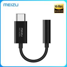 Meizu HD USB TYPE C to 3.5MM Earphone Amplifiers Adapter Hifi DAC Audio Amplificador for Meizu 16s Android Phone PC MAC