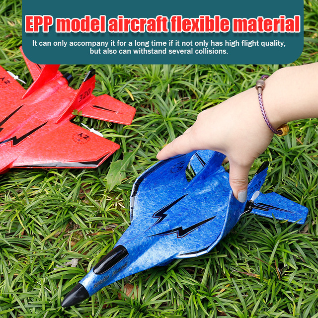 320 Beginner 2.4G Remote Control EPP Materal Glider Hand Throwing Foam RC Airplane 150M Remote Outdoor RC Plane Boys Toy 4