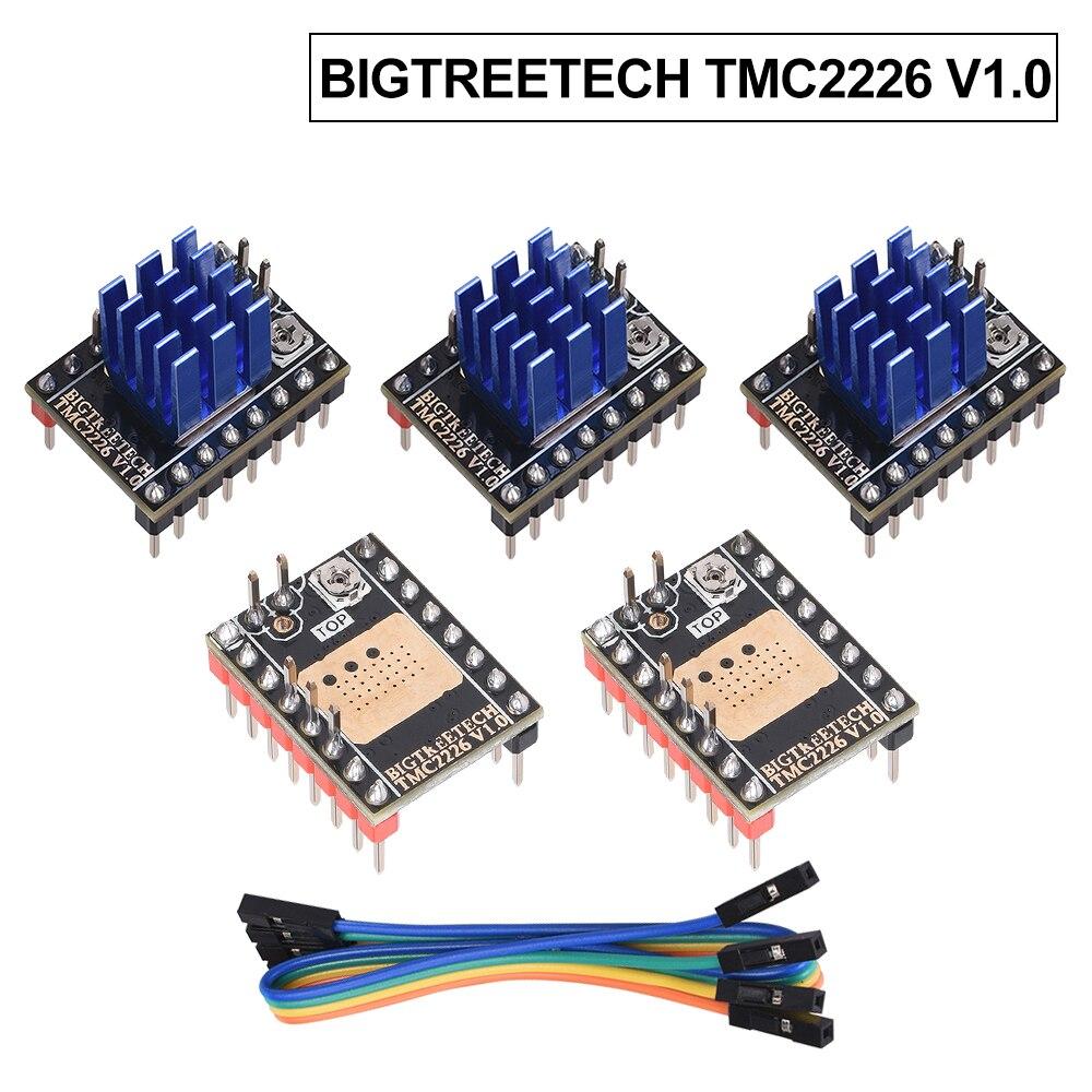 BIGTREETECH TMC2226 V1 0 Stepper Motor Driver UART 2 8A 3D Printer Parts TMC2209 TMC2130 For SKR V1 3 V1  4 Turbo CR10 Ender 3
