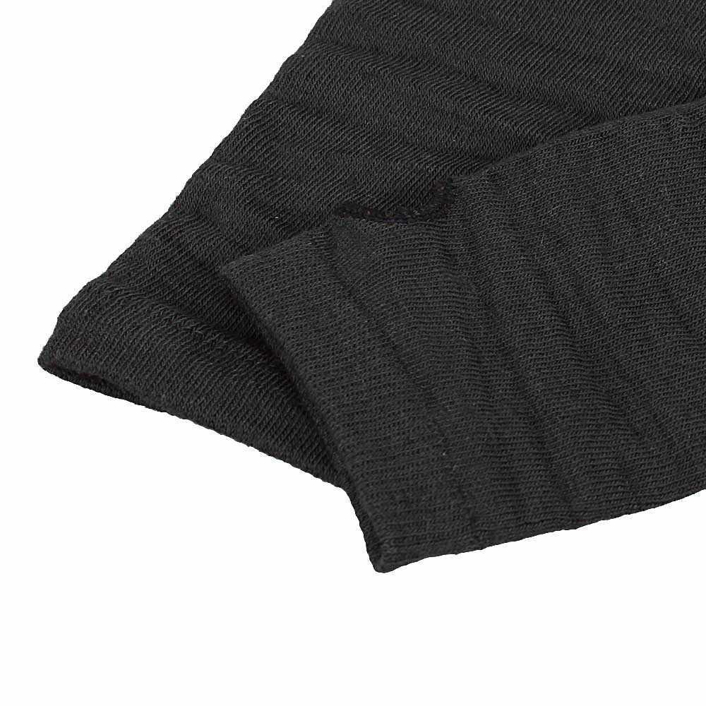 ฤดูหนาวมือข้อมือแขนถักถุงมือยาว Fingerless นวมถุงมือยุทธวิธีผู้ชายการฝึกอบรมถุงมือครึ่งนิ้วมือ # p6