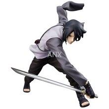 19CM Naruto Uchiha Sasuke Figure PVC Action Boruto Anime Collection Toys For Chilren Gifts Boruto Naruto Next Generations Figure цена 2017