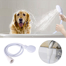 Multi-funktion Pet Hund Katze Dusche Kopf Badezimmer Hahn Spray Köpfe Wc Bad Spritzen Kanalisation Sieb Wasser Shampoo bäder werkzeug