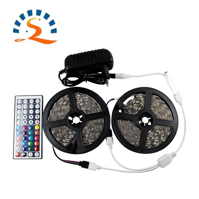 Tira de luz LED RGB 2835 5050 resistente al agua 12V cinta de diodo Flexible direccionable con luz de cinta de control remoto Lámparas de bombilla Led E27/E26 lámpara de mesa Flexible brazo oscilante abrazadera montaje lámpara Oficina estudio hogar mesa escritorio luz UE/EE. UU. Enchufe AC85-265V