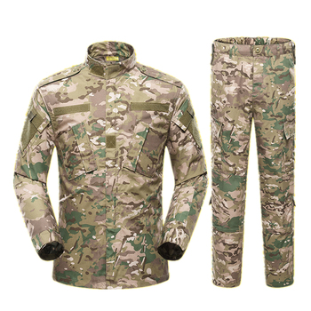 Men Military Uniform Airsoft Camouflage Tactical Suit Camping Army Special Forces Combat Jcckets Pants Militar Soldier Clothes 6
