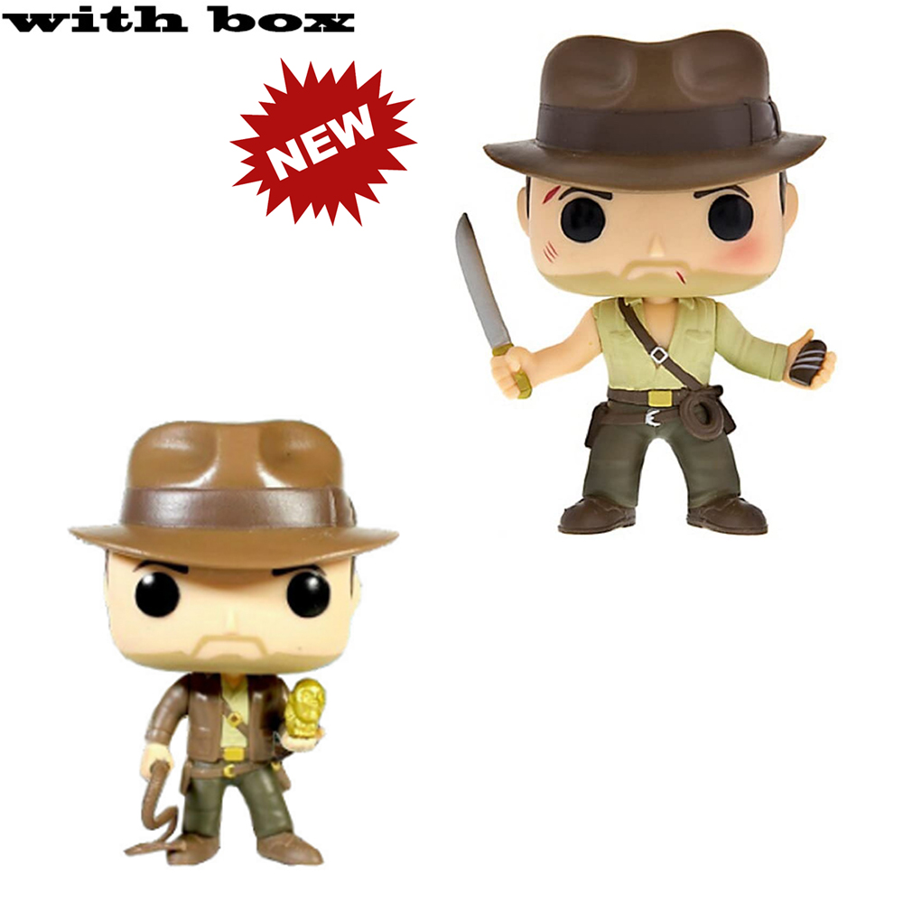#199 #200 Indiana Jones with box Vinyl Action Figures brinquedos Collection Model Toys for Children gift|Action & Toy Figures|   - AliExpress