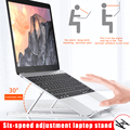Регулируемая Складная подставка для ноутбука из алюминиевого сплава  кронштейн для ноутбука NC99