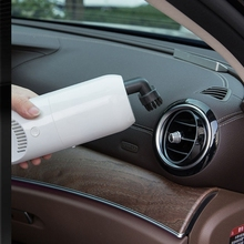 Mini Car Vacuum Cleaner Rechargeable Powerful Hand Wet Dry Dust Collector N84F