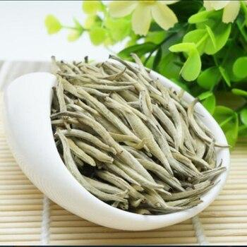 Baihao Yingzhen White Tea Grade Baihaoyinzhen Silver Needle Tea For Weight Loose Chinese Natural Organic Food 1