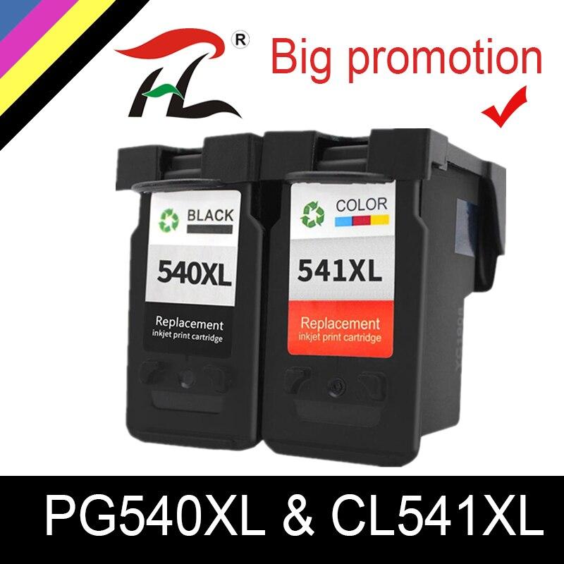 YLC PG-540 CL-541 For Canon PG540XL CL541XL Ink Cartridge Pg 540 For Pixma MG4250 MG3250 MG3255 MG3550 MG4100 MG4150 Printer