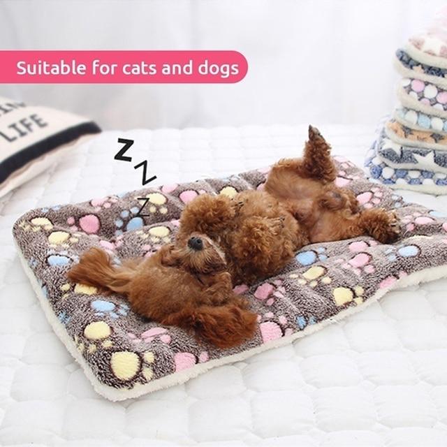 Dog Soft Wool Mat Blanket  5