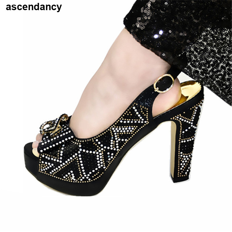 Latest Design Women Shoes High Heels