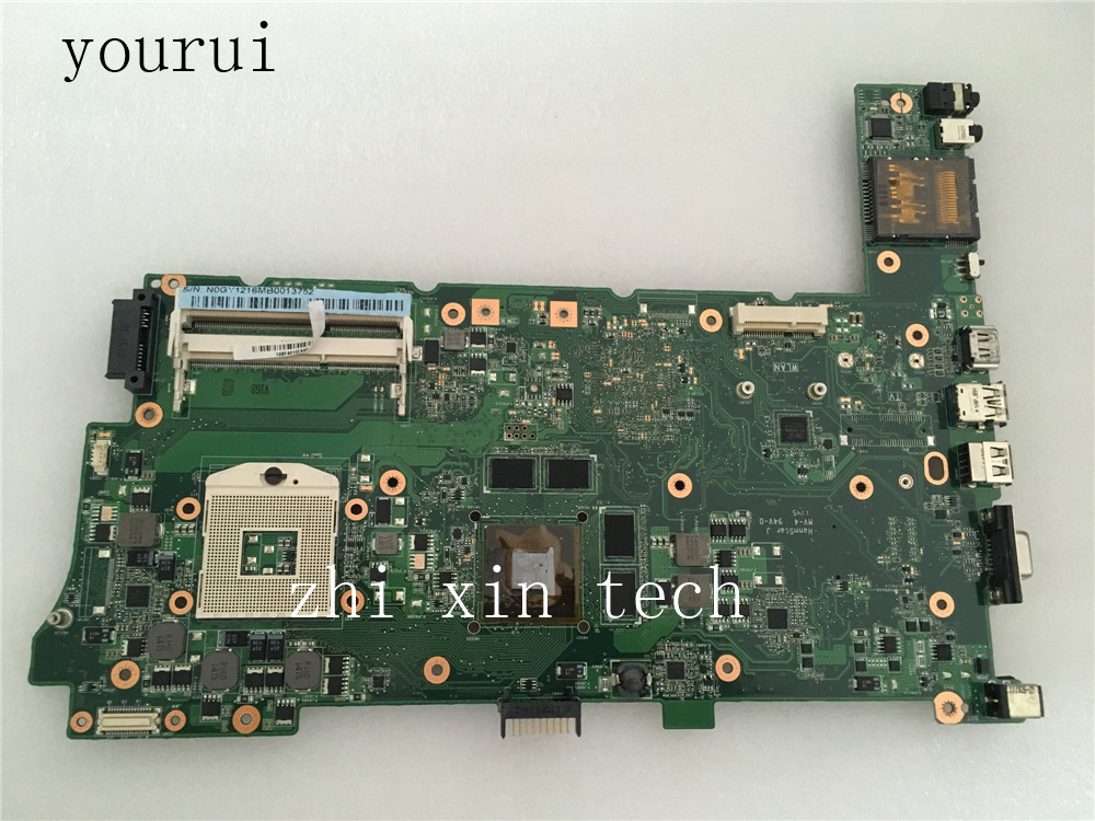 Yourui For ASUS N73SV Laptop Motherboard REV 2.0  DDR3 N73SV Mainboard 100% Test Work