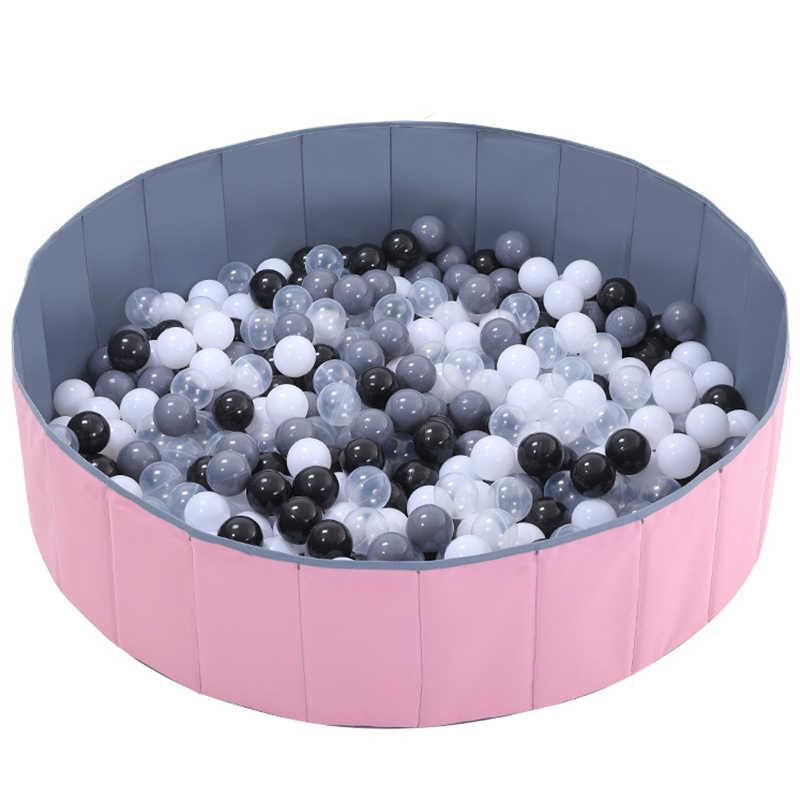 תינוקות הניצוץ כדור בורות מתקפל כדור בריכת אוקיינוס כדור לול צעצוע רחיץ מתקפל גדר ילדים יום הולדת מתנה-קטן