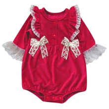 Autumn Winter Baby Girl Rompers Princess Newborn Baby Clothes For 3-24M Girls Long Sleeve Lace Jumpsuit Kids Outfits Clothing newborn baby girl costumes kids rompers elsa princess long sleeve tutu dress 2pcs set girls baby clothes free shipping rd126l