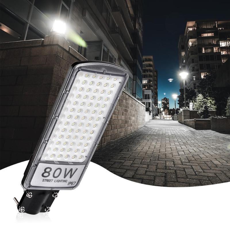 Imperméabilisez la lampe de mur extérieure de jardin de lumière d'inondation de rue de route de 80W 110V LED