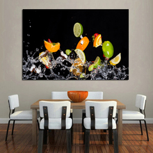 Fruit Salad Realist Oil Painting Posters Modern Wall Art