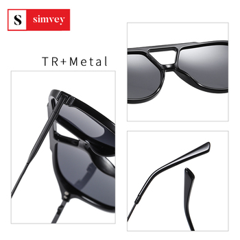 2020 Fashion Oversized Polarized Sunglasses Vintage Women Mens Aviator Sunglasses Brand Design 5