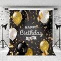 Винилбдс 10 футов Дети День рождения фото фон воздушные шары фоны фотостудия сцена Фотостудия фоны для детской вечеринки