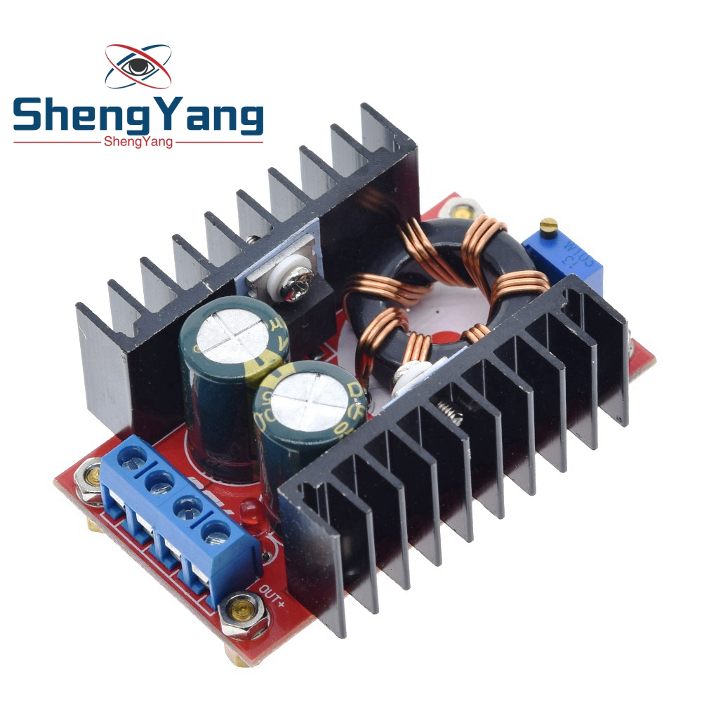 ShengYang 150 Вт DC-DC повышающий преобразователь 10-32 В до 12-35 В 6А повышающее Напряжение зарядное устройство