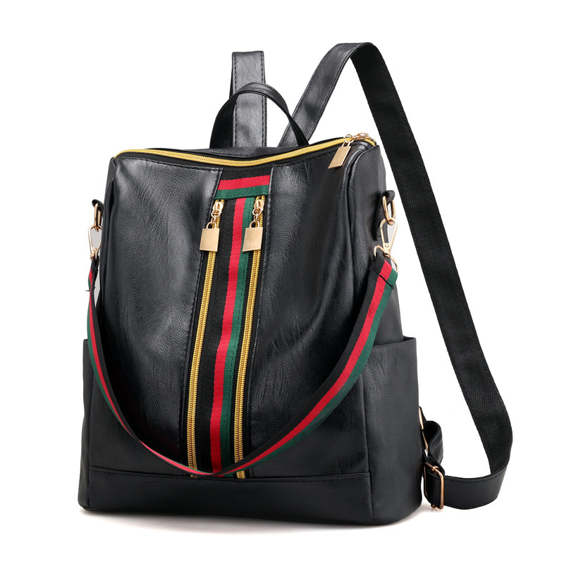 2018 New Style Backpack Fashion Korean Summer Fashion Large Capacity Bag Versatile College Style Casual School Bag Backpack