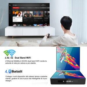 Image 5 - a95x r3 rk3318 smart tv box android 10.0 tv box 4K Quad core set top box mini media player 4gb 32gb 64gb 2gb16gb