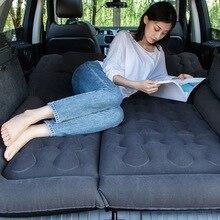 Inflatable Sofa Air-Mattress Sleep-Mat Travel Bed Car-Back-Seat Beach Camp Cushion SUV