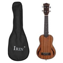 Mahogany Guitar Ukulele Concert Soprano Tenor 21 inch 4 String Hawaiian Mini Ukelele Instruments Guitar Musical Gifts Instrument