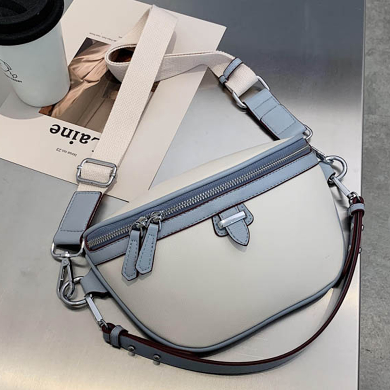 Soft Leather High Quality Shoulder Messenger Bags For Women 2020 Fashion Wide Shoulder Strap Women Designer Shoulder Bag bolsa|Shoulder Bags|   - AliExpress