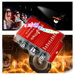 Image 3 - Мини усилитель KYYSLB HY2001 2,0 20 Вт * 2 12 В, домашний аудио мебель, автомобильный усилитель Hi Fi, 20 20 кГц