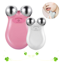 Mini Microcurrent Face Lift Machine Skin Tightening Spa Facial Wrinkle Remover USB Charing Home Use Beauty Massager Tools