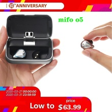 цена на New Mifo O5 Bluetooth 5.0 True Wireless Mini Earbuds In-Ear HIFI Headset наушники беспроводн  Sport headphones NBA mifo O5