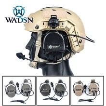 Wargame-Headphones Rail-Adapter Sordin Headset Communication Shooting Fast-Helmet Military