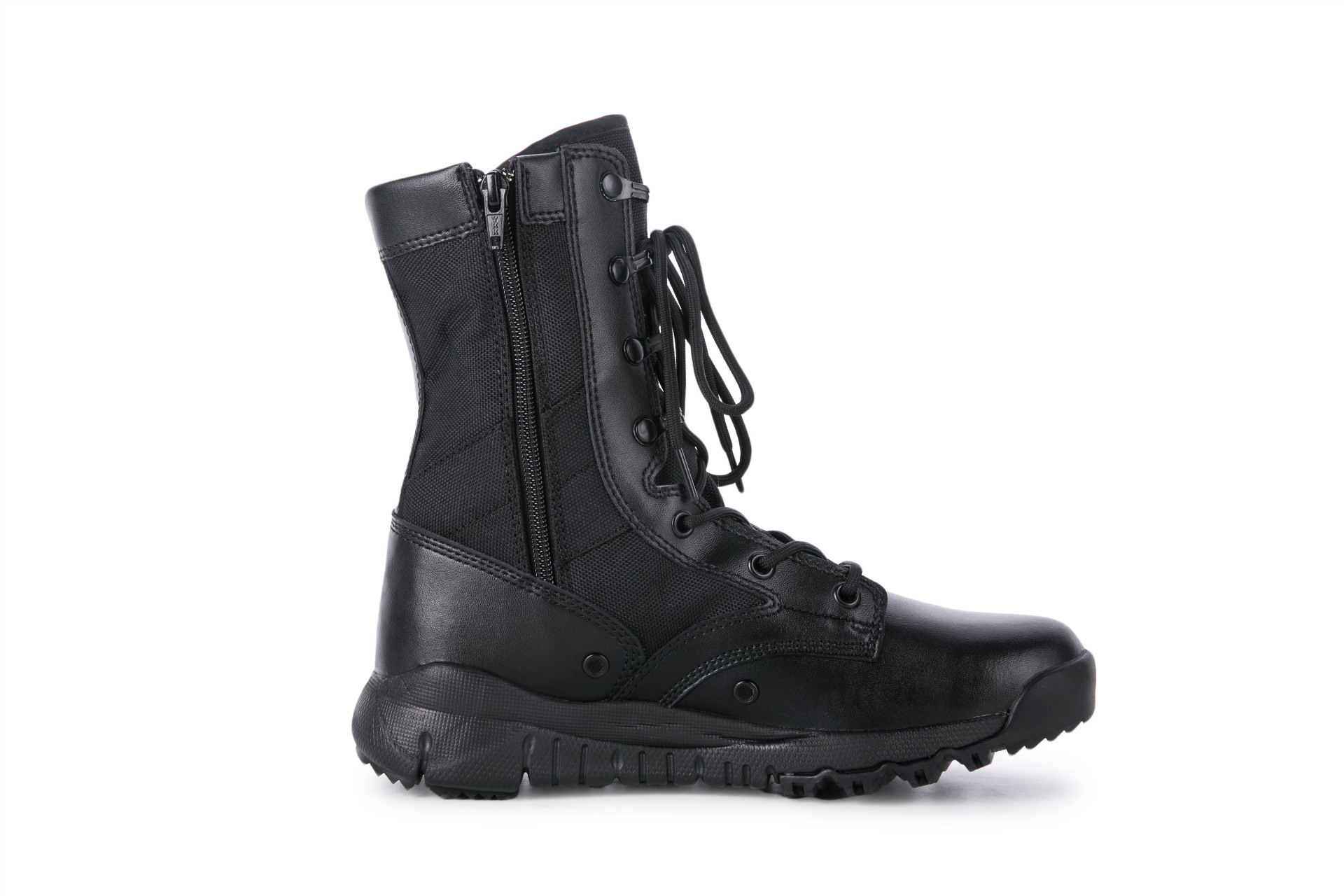 SOURCE Factory Direct Selling Town Shop Of Baoxin CQB.SWAT Summer Hight-top Ultra-Light CQB Combat Boots Side Zipper