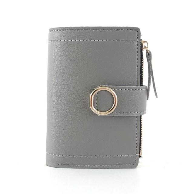 Women Wallets Small Fashion Brand Leather Purse Women Ladies Card Bag For Women 2020 Clutch Women Female Purse Money Clip Wallet 5