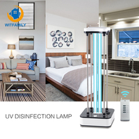 220V Germicidal UV Lamp with Timer Remote Control ultraviolet lamp 36W Mobile Bactericidal Lamp UVC Ozone UVC Lamp