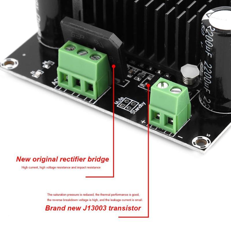 Высокая мощность tda8954-й HW-717 цифровой усилитель плата 420 Вт моноканальный цифровой ядро BTL режим fever Class