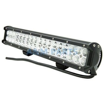 108W Dual Row Off-road LED Light Bar Spot Flood Combo Beam for SUV JEEP 17 Inch фото