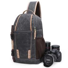كاميرا مقاومة للماء حقيبة الظهر سعة كبيرة للصدمات عدسة أكياس كاميرا فوتوغرافية حقيبة رافعة الكتف DSLR لكانون نيكون سوني SLR