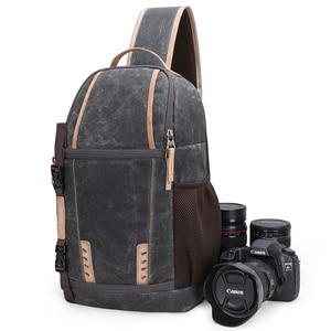 Image 1 - Waterproof Camera Bag Backpack Large Capacity Shockproof Lens Bags Photo Camera Sling Bag Shoulder DSLR for Canon Nikon Sony SLR