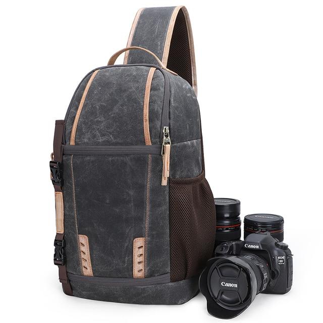 Waterproof Camera Bag Backpack Large Capacity Shockproof Lens Bags Photo Camera Sling Bag Shoulder DSLR for Canon Nikon Sony SLR